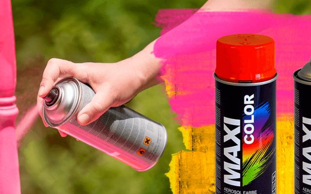 MAXI COLOR universālie krāsas aerosoli