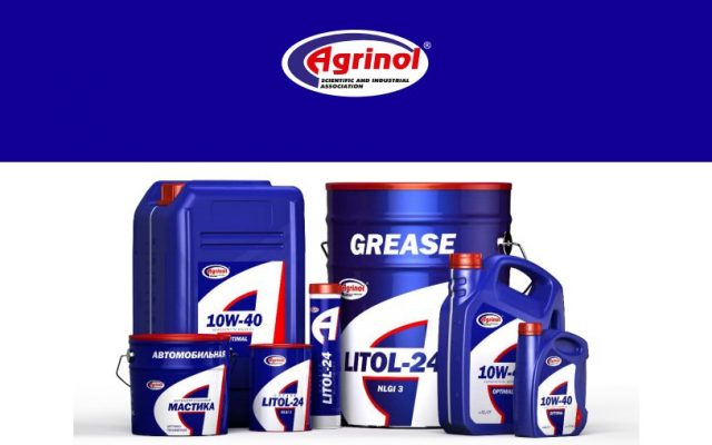 Agrinol lubricants – 1st letter for Auto